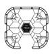 DJI 大疆 特洛 Cynova 方形保护罩(适配于Tello)- 灰色