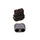 AMASS 艾迈斯  XT60H 母头 带护套  XT60H 黑色插头 Amass正品模型配件