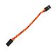30芯 10CM棕红橙抗干扰延长线(扭线)FUTABA/JR通用插头
